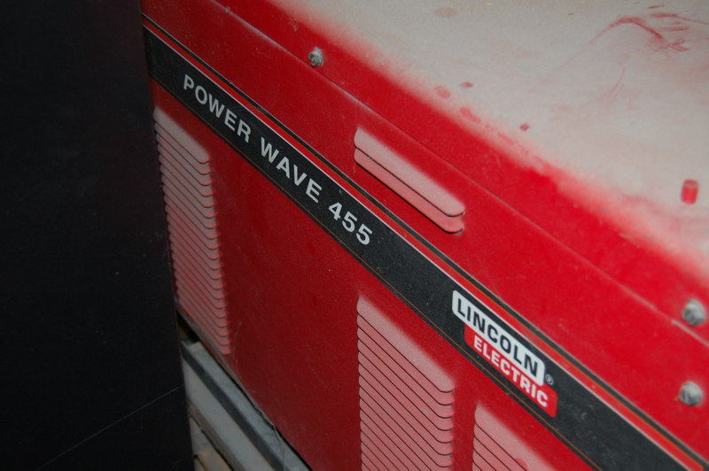 Lincoln Welder Power Wave 455 Power Feed Ready-Pak